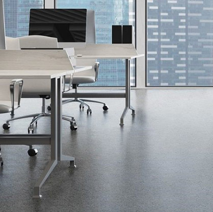 piso vinílico pastell conductivo