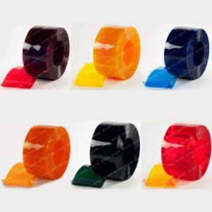 cortinas extruflex cristal coloreado