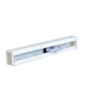 riel cortina de aleación aluminio engrosado